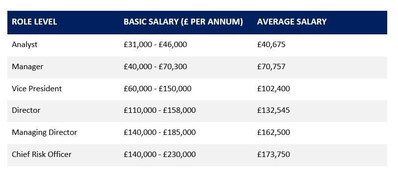 operational risk salary