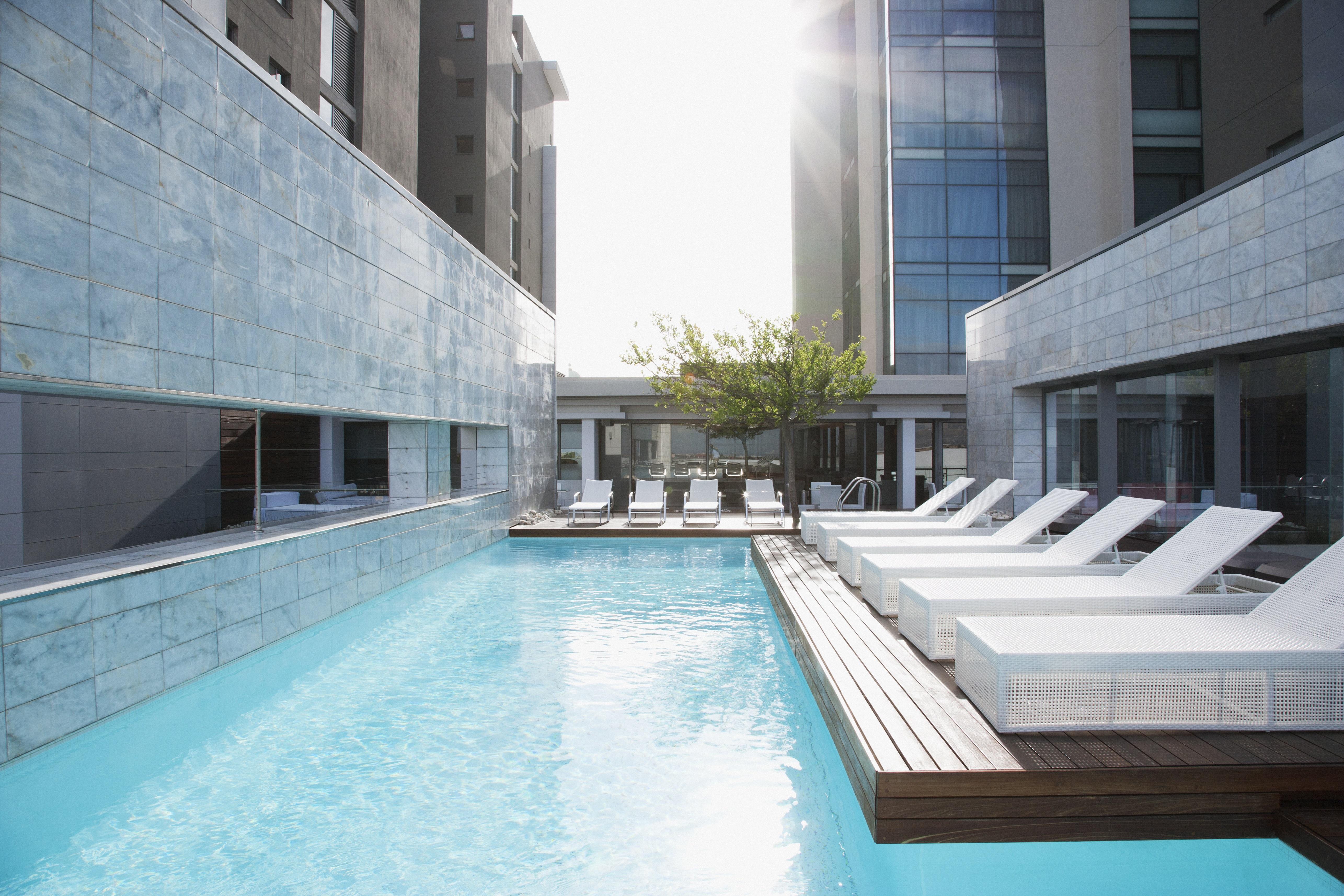 Hotel leisure pool