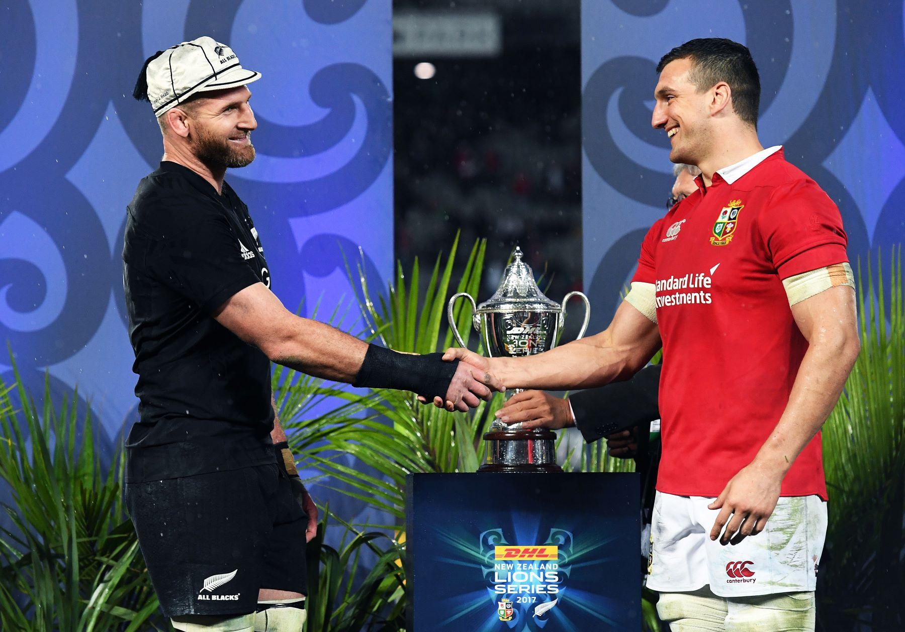 The british and irish lions handshake