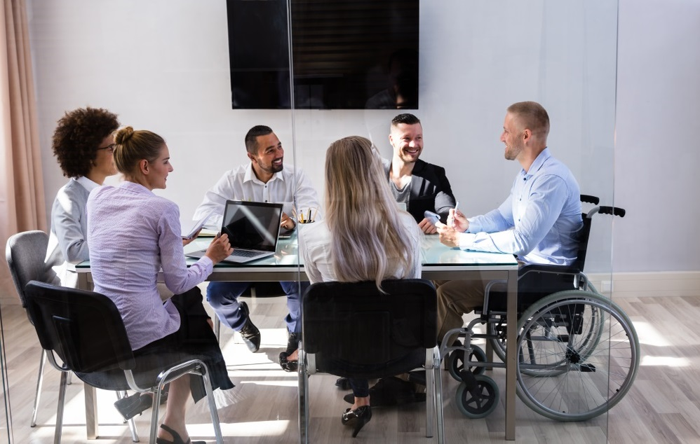 Diversity and Inclusion disability office meeting